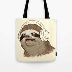 What is a sloths favourite music? Tote Bag