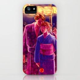 Matsuri iPhone Case