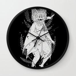 hairy bat Wall Clock