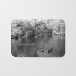 On The Lake Bath Mat