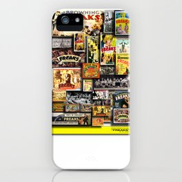 Vintage Freaks by iamjohnlogan iPhone Case
