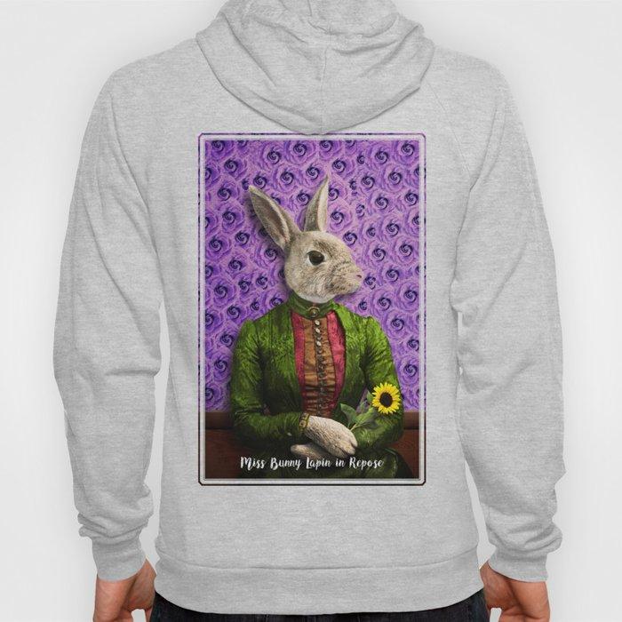 Miss Bunny Lapin in Repose Hoody