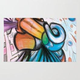 """""""L'art pour l'art"""" (digital medium) Rug"""