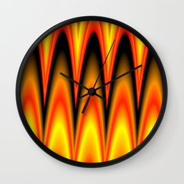 magical colors Wall Clock