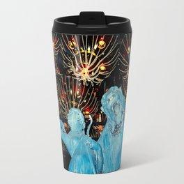 Blue American Gothic Travel Mug