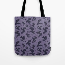 Batcats purple Tote Bag