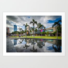 Reflecting at Bonifacio Global City Art Print