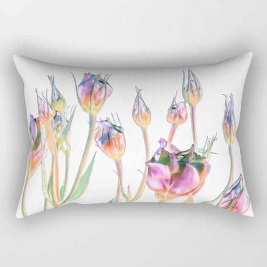 Fantasy Florals #society6 #decor #buyart Rectangular Pillow