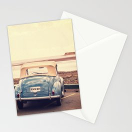 Beach Bum Vintage Car Stationery Cards