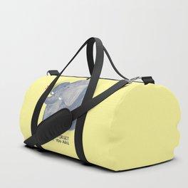 Elephant never forgets Duffle Bag