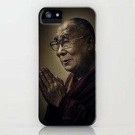 His Holiness The Dalai Lama iPhone Case