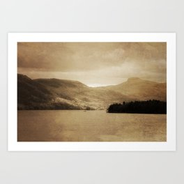 Lake George II Art Print