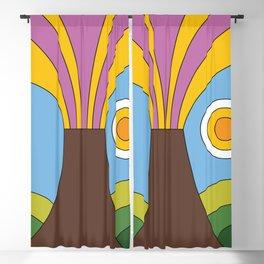 Volcano Blackout Curtain