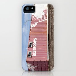 Restrooms iPhone Case