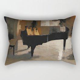 Grand Piano Artwork Rectangular Pillow