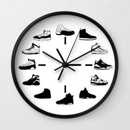 Time to AJ Wall Clock