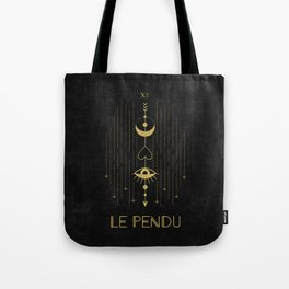 Le Pendu or The Hanged Man Tarot Tote Bag
