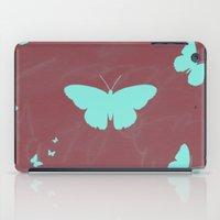 butterflies iPad Cases featuring Butterflies by Yasmina Baggili