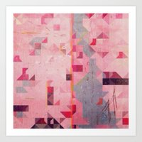 river Art Prints featuring river by Laura Moctezuma