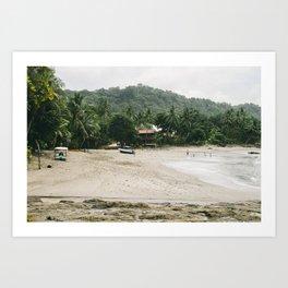 Montezuma, Costa Rica Art Print