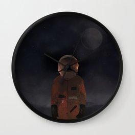 marooned astronaut Wall Clock