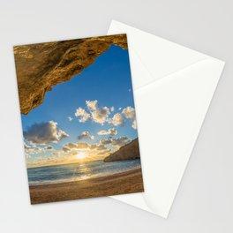 Porto Katsiki beach Stationery Cards