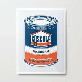 Cascola Metal Print