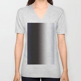 Blue Grey Unisex V-Neck