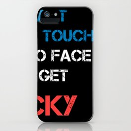 Instant French Touch iPhone Case