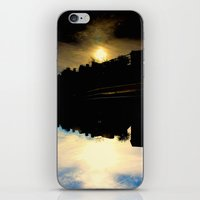dallas iPhone & iPod Skins featuring Dallas Sunfall by k-foto