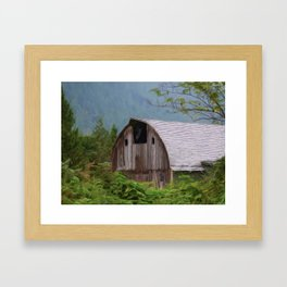 Middle Of Nowhere - Country Art Framed Art Print