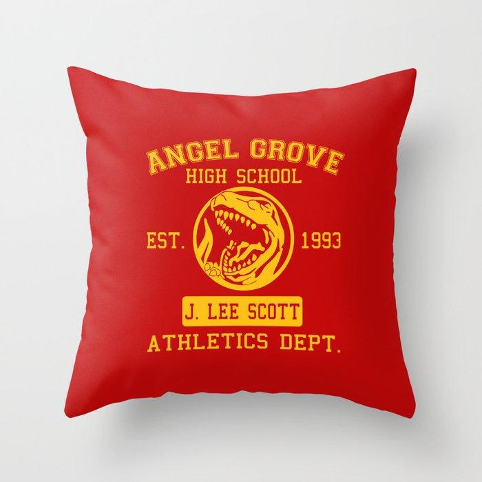 Angel Grove Throw Pillow