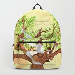 The concentrated Lady of the Oak Backpack