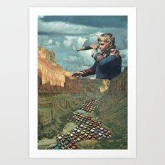 ALFAMA 2 Art Print