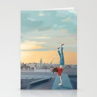 daredevil Stationery Cards featuring Daredevil  by Lesley Vamos