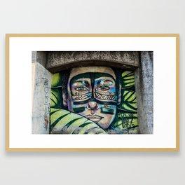 AFH 2018 Street Art 5 Framed Art Print