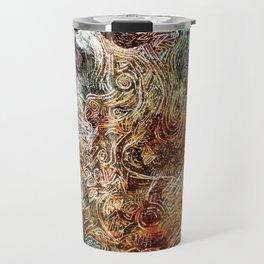 blured glass Travel Mug