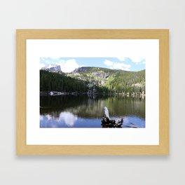 Serene Morning At Bear Lake Framed Art Print