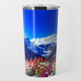 SPRING BANFF NATIONAL PARK CANADA Travel Mug