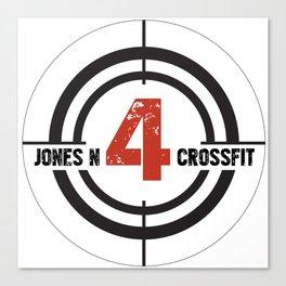 JN4 Target Canvas Print