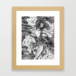 Entrails Framed Art Print