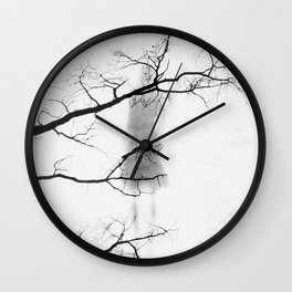 let our souls intertwine Wall Clock