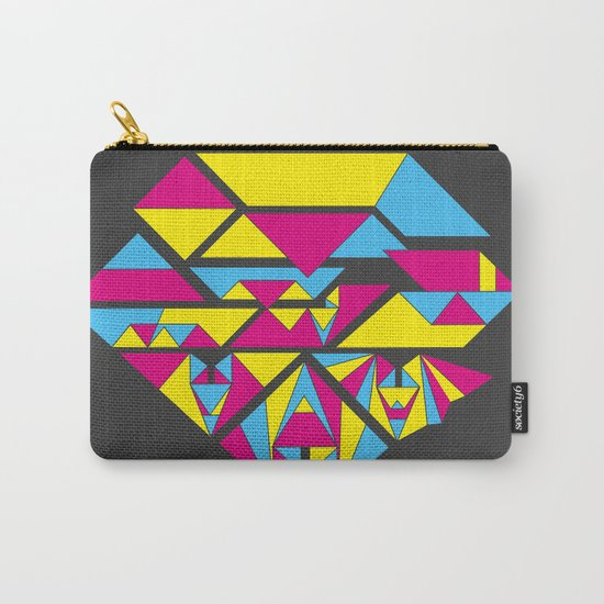 Bat origami Carry-All Pouch