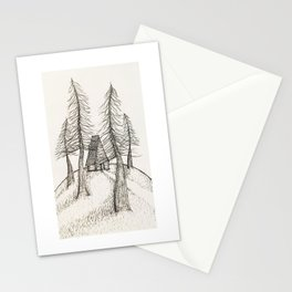 House in The Woods Stationery Cards