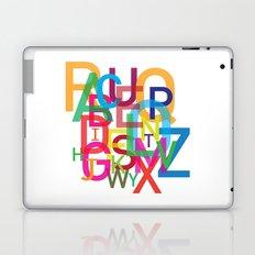 AMAZING ALPHABET Laptop & iPad Skin
