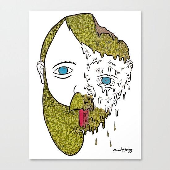 Face Melter Print Canvas Print