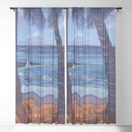 Maka Leha - Glance In Wonder Sheer Curtain
