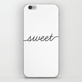 sweet dreams (1 of 2) iPhone Skin
