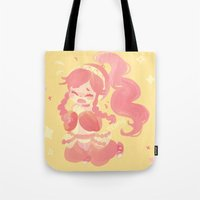 charmaine olivia Tote Bags featuring Olivia by tcong