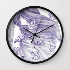 Peace Of Mind Wall Clock
